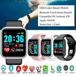 1.3 Polegada Dom relógios Bluetooth Tela TFT LCD 4.0 Cardíaca de Pressão Arterial Homens Mulheres Smart da Pulseira de vigilância inteligente