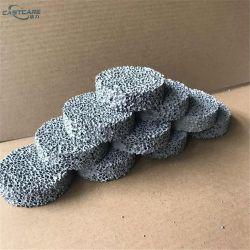 Ash Cast Iron을 위한 실리콘 카바이드 폼 세라믹 필터