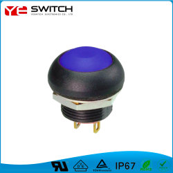 Usine de gros de l'interrupteur de puissance électrique étanche Interrupteur à bouton poussoir