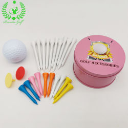 Women Player Golf AccessoriesのためのピンクのColor Golf Gift Set