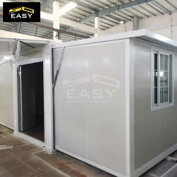 [40فت] قابل للانهيار قابل للتوسيع وعاء صندوق منزل حديث اثنان غرفة نوم يعيش إلى البيت