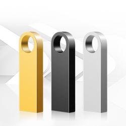 Piccolo bastone di memoria dell'azionamento 32GB 64GB della penna del USB di tasto del metallo di Pendrive 3.0 8GB 16GB dei regali di Promo con stampa personalizzata incisa di marchio