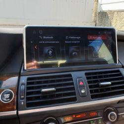 """10.25"""" 8코어 Android 10 4G RAM 카 멀티미디어 플레이어 GPS BT Wi-Fi LCD가 장착된 BMW X1 E84 2009-2015용 Navi 무선 4G Let"""