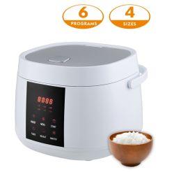Aparato de Cocina programable como cocina eléctrica para el arroz, sopa, las gachas de avena, harina de avena, pastel, estofado, el vapor