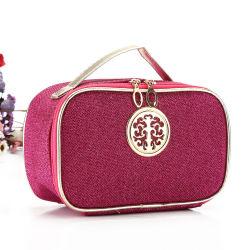 De promotie Zakken van het Geval van de Samenstelling Naar maat gemaakte Kosmetische Dame Tolietry Bag Beauty Bag