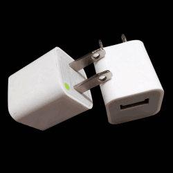 5V 1000mA AC iPhone 7のプラスのSamsung S6 S7の端の携帯電話のための携帯用力USBのアダプターのホーム旅行壁の充電器