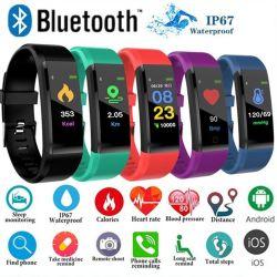 健康のスマートなブレスレットの心拍数の血圧の適性の追跡者のSmartwatchのリスト・ストラップの防水スマートな腕時計