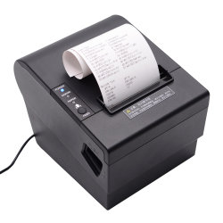 Beeprt 80мм чековые POS Термопринтер, автоматический резак для Системы кассовых аппаратов