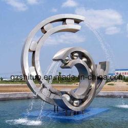 Grande arte della decorazione della scultura dell'acciaio inossidabile