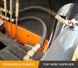 Kundenspezifische Verpackungs-Oberfläche für Aufbau-Maschinerie-en 857 2sc 2 Zoll-Gummi-Schlauch