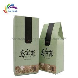 고품질 광장 환경 친절한 브라운 종이 차 건조 과일 포장 백, 종이 패키지 음식