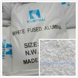 Le corindon blanc de haute pureté de l'alumine fondue Wa Wfa Oxyde d'aluminium