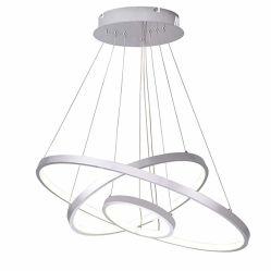 Moderno ajustável 3 Anel lustres de LED para a sala de estar quarto Luz Pendente