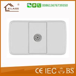 América do Sul com certificado CE Sound-Control Interruptor de parede