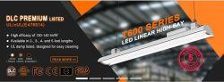 347V-480V Dlc 4.1 UL cUL (No. E476514)는 80W-200W LED 높은 만 정착물 산업 빛을 목록으로 만들었다