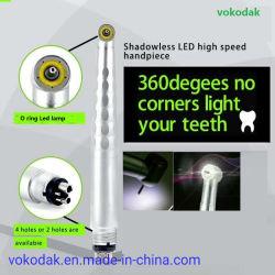Shadowless LED-Hochgeschwindigkeitsluftturbine zahnmedizinische Handpiece zahnmedizinische Produkte