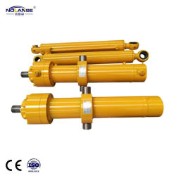 Piston Professional Fabricant usine personnaliser l'ingénierie à usage intensif de l'huile hydraulique à double effet télescopique Appuyez sur le vérin pour pièces de matériel de la machine