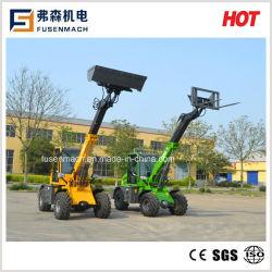 1.5T, 42kw cargadora de ruedas telescópica con EPA4 motor Kohler
