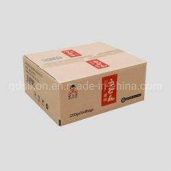 Alimentation boîte en carton<br/> personnaliser l'emballage en papier kraft