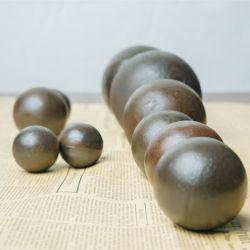 Esfera de mídia de moagem moinho de bolas esferas de aço forjado bolas de Ferro Fundido para a mineração de moinho de esferas