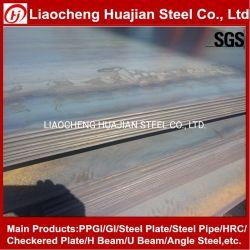 A36 Q235B S235jr Fluss-Stahl-Blatt-Frau Plate mit SGS-Inspektion