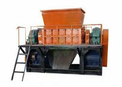 Pneu haute efficacité Shuguang Shredder Machine à faire caoutchouc granulaire