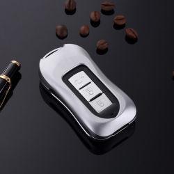 Новая конструкция из алюминия 3 кнопки для Mitsubishi ключ включает в себя роскошь ключ крышки картера