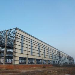 La construction à ossature Pre-Fabric Structure en acier de l'entrepôt de la construction avec le meilleur prix