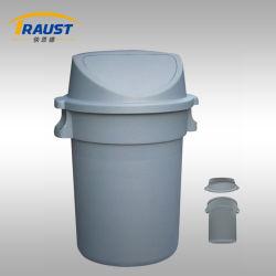 Lixo plástico de abertura exterior / selados de plástico de caixote do lixo