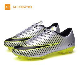 2019 новый оригинальный Artifical газоне футбольного башмаков в кожаных Surperfly футбола обувь футбол загружается