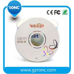Schrijven-eens Schijf van de Lege Media van DVD Recordable 16X 4.7GB
