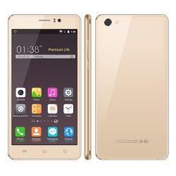 Precio barato gran pantalla HD Android Smartphone cuatro núcleos 5.1 MT6580m Teléfono Móvil de cuatro núcleos