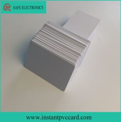 RFID imprimables jet d'encre blanc brillant 125kHz Carte PVC