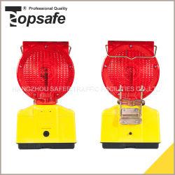 Super-LED mit Sonnenenergie-Verkehrs-warnender Lampe