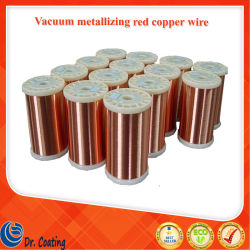 機械使用を金属で処理するプラスチック真空のための熱い販売99.99%純度0.3mmの銅線か赤い銅線の真空メッキ材料