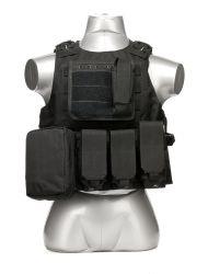 Van het Vest van Gilet Paintball van de Beschermers van de Borst van Molle van het Kostuum van het Vest van Airsoft de Tactische Militaire Speciale Krachten van de Mensen van de Volwassenen van de Gevechtstraining van het Cs- Gebied Openlucht Modulaire