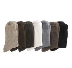 Пользовательские цвета высокого качества мужская Анджела шерстяные носки для бизнеса