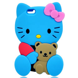 Top Fashion Soft Cell Phone Silicon Skin Cover pour iPhone
