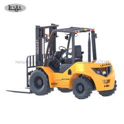 carrello elevatore a forcale diesel del terreno di massima di 2.5ton 3.5ton 4WD