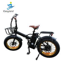 Faltendes elektrisches fettes Fahrrad 20 mit Lithium-Batterie (EL-DN2002Z)