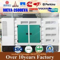 Moins de carburant des groupes électrogènes, Electric Power Plant-1250Set 20kVA kVA générateur diesel portable en mode silencieux