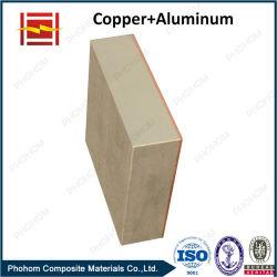 Биметаллическую пластину для алюминиевых меди оболочка с переходной экономикой совместные