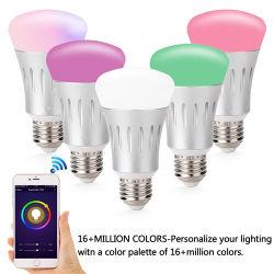 заводская цена продажи с возможностью горячей замены новые яркие смарт-телефона приложение управления WiFi Smart LED лампы