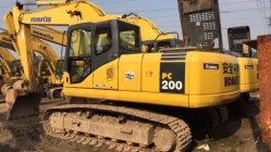 日本使用された元の小松掘削機PC200-7 (小松PC200-7)