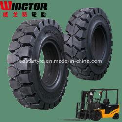 6.50-10 포크리프트 타이어 제조자 포크리프트 단단한 타이어 6.50-10