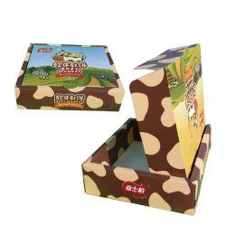 Заказ купли-продажи переработанной обед питание бумаги в салоне упаковки, Складные коробки бумаги, Цветная бумага подарочная упаковка на заводе