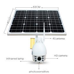 Macchina fotografica del CCTV dello zoom di HD 1080P 3G 4G WiFi PTZ 5X con la scheda del sistema 32GB TF di energia solare