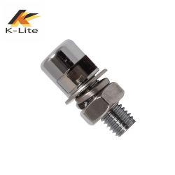 Haute luminosité LED 24 V de la plaque minéralogique pour moto (LM-401)