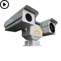 El vehículo alquiler de Ruggized IR PTZ de cámara de seguridad térmica