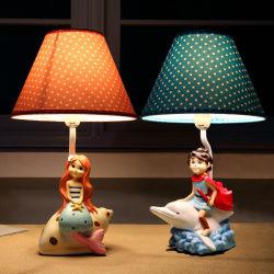크리스마스 불빛 수공지 작은 장식적인 테이블 램프